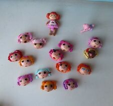 Lalaloopsy Lot of Heads Small Dolls Heads Only