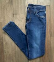 EUC Ralph Lauren Denim Supply Dark Wash Skinny Jeans Women's 25 X 32