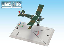 NIEUPORT 17 (NUNGESSER) - WINGS OF GLORY - SENT FIRST CLASS