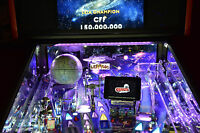 Terminator 2, Star Wars, Ghostbusters Pinball Machine backboard light Mod