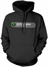 Achievement Unlocked Left The House Funny Gamer Hoody - Unisex Sized Hoodie