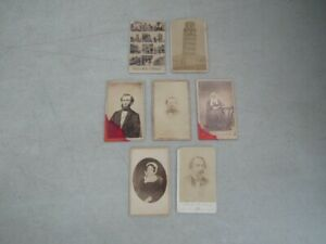 Nystamps G Old US Revenue stamp CDV photo collection