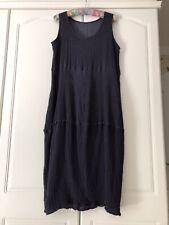 Privatsachen Cocon Commerz Size 2 Deep Violet Silk Tulip Dress New Tag Removed