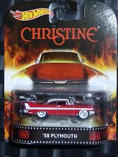 2015 HOTWHEELS - Retro entertainment G - CHRISTINE '58 Plymouth Belvedere