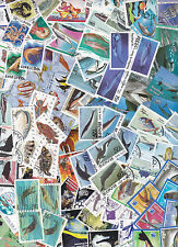 Collection 100 diff. stamps - Vissen / Fish / Fische (Y1011.A)