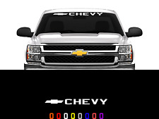 Chevy Logo Front Windshield Decal Sticker Fits Chevy Trucks Cars SUV's 36""