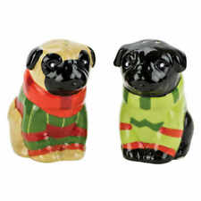 Boston Warehouse Pugs & Kisses Salt and Pepper Shakers