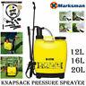 PRESSURE GARDEN KNAPSACK CHEMICAL SPRAYER WEED PEST KILLER BACKPACK 12L/16L/20L