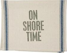 On Shore Time Beach Theme Tea Towel Dish Towel