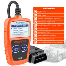 OBD2 OBDII Scanner Car Code Readers Auto Diagnostic Tool EOBD Engine Check NX201