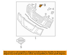 NISSAN OEM-Grille Assembly Clip 768820M060