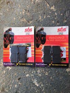 sbs dual carbon front brake pads bmw s1000rr