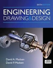 Engineering Drawing and Design 5e by David A.  Madsen 5th