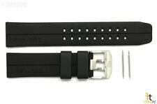 Luminox 6400 EVO F-117 Nighthawk 23mm Black Rubber Watch Band Strap 6401