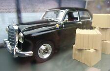 "007 JAMES BOND - Mercedes Benz 220 S Ponton ""Goldfinger"" 1:43 BOXED CAR MODEL"