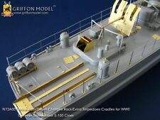 Griffon N72A001 1/72 Schnellboot S-100 Depth Charges Rack/Torpedo Cradles
