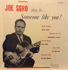 JOE SGRO Plays For Someone Like You ! CHUBBY CHECKER Guitarist JAX RECORDS LP