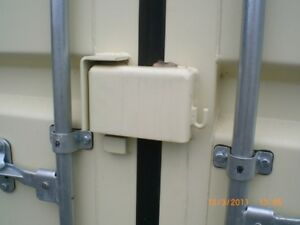 Shipping Container Lock Box, secures you pad lock, Solid & Safe, Bolt or Weld on