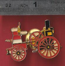 Car pin badge - Vintage Steam-powered Car