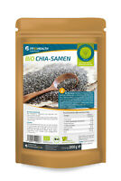 FP24 Health Bio Chia Samen 2kg - Öko Anbau - Rohkost Qualität - 2000g