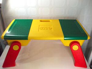 Lego 6787 Bautisch 1995 / Playtable Spieltisch mit Bauplatten Klapptisch selten