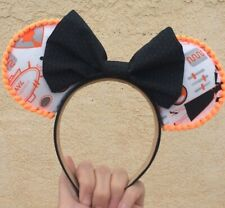 Black and Orange Minions Mickey Mouse ears headband for Universal Studios