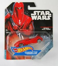 Hot Wheels Star Wars Die Cast Character Car Imperial Royal Guard Vehicle MINT