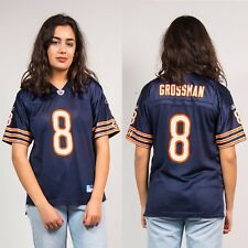 90'S CHICAGO BEARS TOP JERSEY REEBOK BLUE & ORANGE AMERICAN FOOTBALL NFL 12