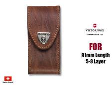Victorinox Leather Etui Brown Vic40545