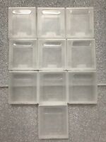 10 For Nintendo Game Boy DMG Original Gameboy Cartridge Cases / Dust Covers GBC