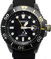 Seiko Prospex Solar Divers Mens 200m Watch SNE441P1 Warranty, Box