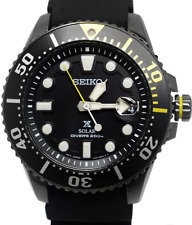 Seiko Prospex Solar Divers Mens 200m Watch SNE441P1 Warranty, Box