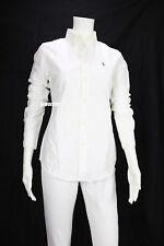 Polo Ralph Lauren Women's Custom Fit Oxford Button Down Shirt White S