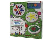 Stampo per Bambini & Vernice memoria Stepping Stones Vialetto da giardino bambini Craft Kit 030208