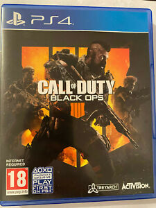 Call Of Duty Black Ops 4 Black Ops IIII PS4 Playstation 4 Game  UK P&P