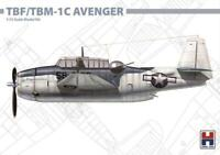TBF/TBM-1C AVENGER (U.S. NAVY MKGS)#72009 1/72 HOBBY2000/HASEGAWA LIMITED EDIT.