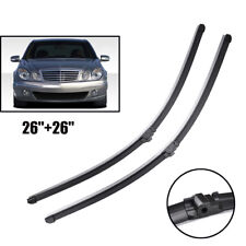 "2X 26"" Front Window Windshield Wiper Blades Fit For Mercedes E Class W211 S211"