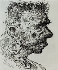 PETER HOWSON Contemporary Scottish Artist Original Signed Etching LISTED