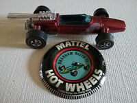 Vintage Mattel Hot Wheels Red Brabham Repco f1 - Original Owner - Purchased New