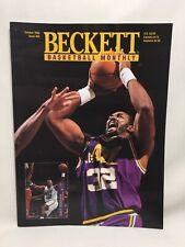 Beckett Basketball Monthly October 1995 Karl Malone Jazz Richmond