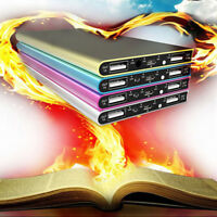 Ultra Thin 20000mAh Portable External Battery Charger Power Bank for Cell J_vi