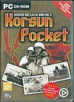 Korsun Pocket Decisive Battles of WWII Vol. 2 Pc Ottima Edizione Uk con Manuale