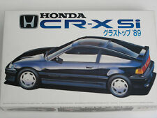 1/24 Japan Fujimi Honda CR-X Glass Top Plastic Model Kit