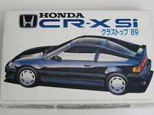 1/24 Japan Fujimi Honda CR-X Glass Top Plastic Model Kit