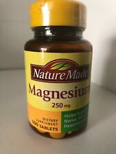 Nature Made Magnesium 250mg 100 Tablets