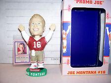 2002 BOBBLE DREAMS JOE MONTANA BOBBLEHEAD S.F. 49ERS RED JERSEY # 1628 OF 3000