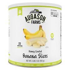 Augason Farms Gluten Free Banana Chips Emergency Food - 33oz