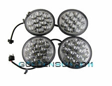 "5-3/4"" LED HID Cree Light Bulb Crystal Clear Sealed Beam Headlamp Headlight 4PCS"