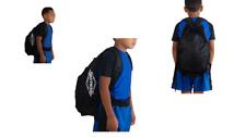 Matman Wrestling Youth Equipment Gear Bag / Back Pack (Black)