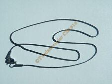 Chaine Serpentine 100% Acier Inox 46 cm Serpent 0,9 mm